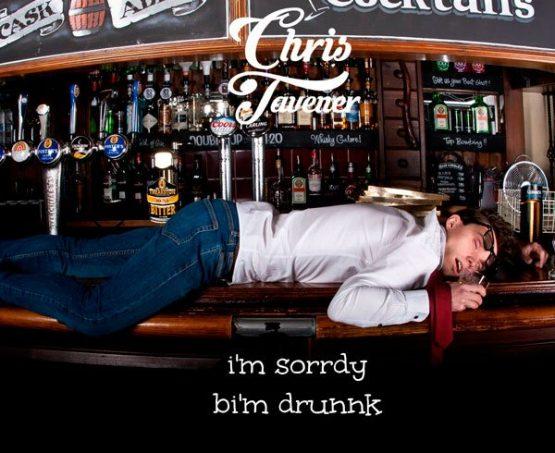 i'm sorrdy bi'm drunnk EP Cover