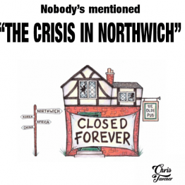 The Crisis In Northwich T-Shirt Design